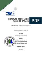 Auditoria de Las Telecomunicaciones