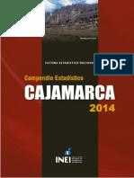 Compendio Estadístico Cajamarca 2014