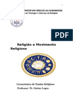 Apostila de Movimento Religiosos