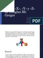 Teoria x y z Macgrgor