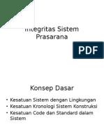 Manajemen Prasarana Transportasi (Integritas Prasarana)