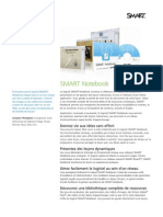 Factsheet SMART Notebook 10 FR