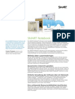 Factsheet SMART Notebook 10 DE