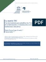 Articulo Matriz TIC (Una Herramienta Para Planificar)