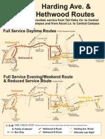 HWD HDG- TT & MAP