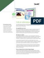 Factsheet SMART Notebook Math FR