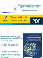 TEOS-10 Slides for Oceanography