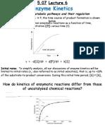 MIT Lecture 6 5.07 Biochemistry Lecture