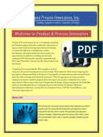 Product & Process Innovation