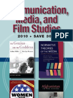University of Illinois Press Spring 2010 Communications, Media, and Film Studies Book Catalog