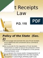Trust Receipt Rpt