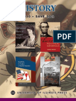 University of Illinois Press Spring 2010 History Book Catalog