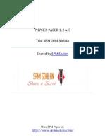 Trial SPM Melaka 2014 - Soalan