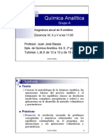 Quimica Analitica - Baeza - Teoria y Problemas - 2005