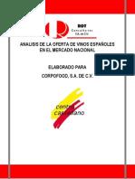 Analisis de La Oferta de Vinos Españoles en El Mercado Nacional