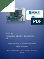 Informe Concurso Cilindros de Concreto