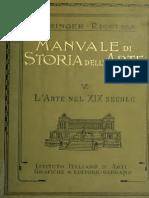 Manuale di storia dell'arte vol V - L'arte del XIX secolo