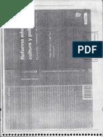REFORMA EDUCATIVA, CULTURA Y POLITICA.pdf
