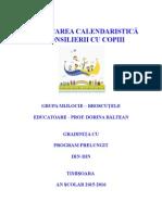 Consiliere Copii 2015-2016 Educatoare