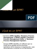 Qué es un BPM