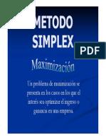 Ejemplos Simplex