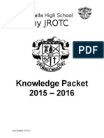 knowledge packet 2015 - 2016