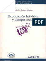 Rodolfo Suárez Molnar, Explicación Histórica
