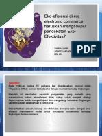 ecoefficiency ecommerce