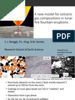 Renggli C. lunar volcanic gas
