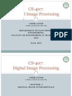 DIP_Slides 2 Image Fundamentals_ Umer Javed