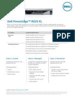 Poweredge Oem r220xl Spec Sheet