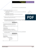 Bab 13 Matematik Tingkatan 3 - Graf Fungsi