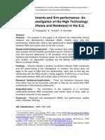 WP R&D Invest HighTech Sector