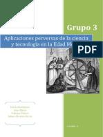 APLICACIONES PERVERSAS DE LA CIENCIA Y TECNOLOGÍA EN LA E.MEDIA