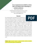 La equidad educativa y la regionalización de la BUAP