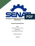 Marefa SRL Proyecto Iso 9001