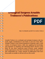 Surgeon Arnaldo Trabucco Publications