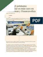 Costo Del Préstamo Vehicular Es Más Caro en Amazonas y Huancavelica_249