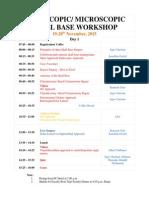 Program - Endoscopic Skull Base Workshop
