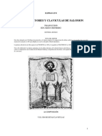 El Claviculas salomon