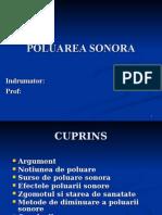 Atestat Poluare Sonora