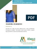 EntreCvista Isadora Marques