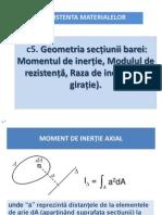 c5 Moment Inertie