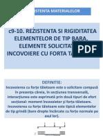 c9-10 Incovoiere Cu Forta Taietoare