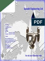 Kaysafe Strainer Brochure 20141a