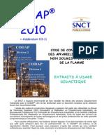 CODAP2010 Catégorie Construction