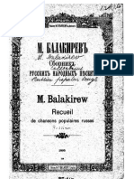 Balakirev - Collection of Popular Russian Songs