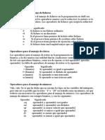 Operadores y parametros scripts Linux