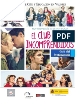 El Club de Los Incomprendidos- Profesorado