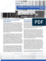 Arnstein & Lehr Intellectual Property Newsletter Spring 2010
